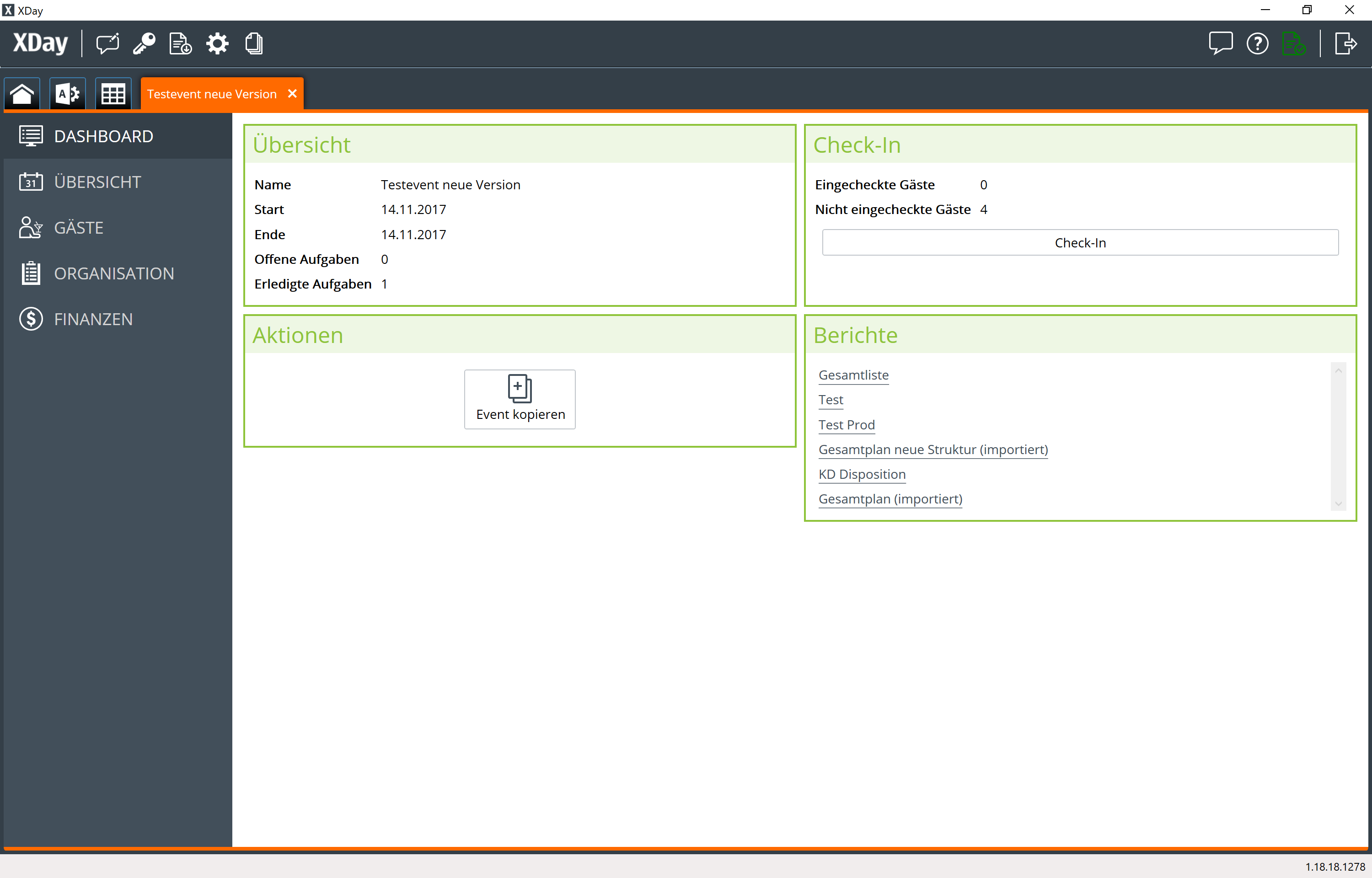 Xday Eventmanagement Software